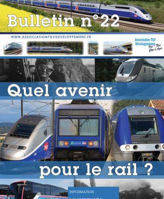 Bulletin n°22 – Quelle avenir pour le rail ?