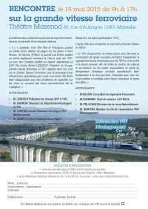 Rencontre sur la grande vitesse ferroviaire