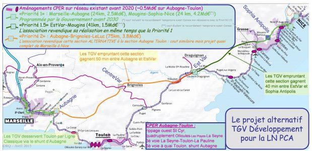 Dossier Ligne Nouvelle Provence Côte d'Azur : A l'aube d'une décision ministérielle sur la Priorité 2