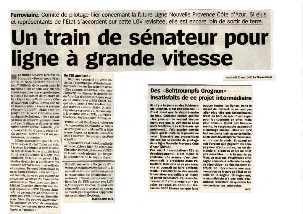 La Marseillaise 21 mai 2015