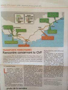 Le Patriote: Rencontre concernant la GVF