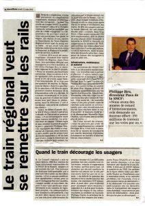 La Marseillaise: Le train régional veut se remettre sur les rails