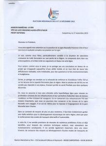 Questionnaire Régionales 2015: Réponse de Marion Maréchal-Le Pen (FN)