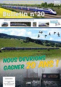 Bulletin n° 20 – Nous devrions gagner 20 ans !