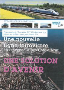 Toute l'équipe de l'association TGV Développement vous souhaite une bonne année 2018